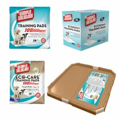 Puppy Pads Simple Solution Dog Toilet House Training Wee Pads Strong and Holder
