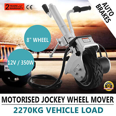 Trailer Caravan Motorised Jockey Wheel Mover & Clamp 19cm with Aluminum