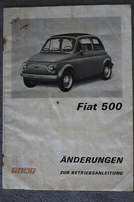 fiat 500 betriebsanleitung auflage 1937 eur 20 00 picclick de. Black Bedroom Furniture Sets. Home Design Ideas