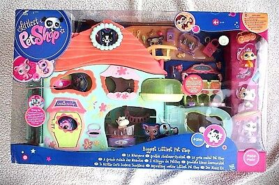 Littlest Pet Shop: Biggest Lps, Gran Ciudad. Very Rare, Htf, Brand New In Box!