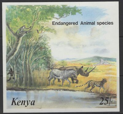 Kenya Sgms369 1985 Endangered Animals Mnh