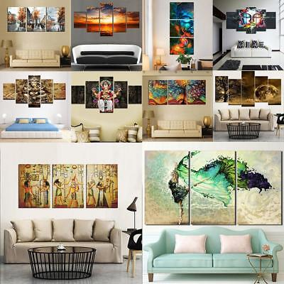 Large Modern Abstract Art Canvas Oil Painting Picture Print Wall Decor No Framed
