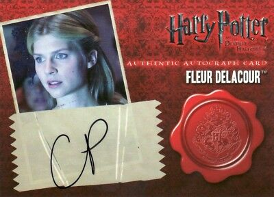 Harry Potter & the Deathly Hallows Part 1 Clémence Poésy as Fleur Delacour Auto
