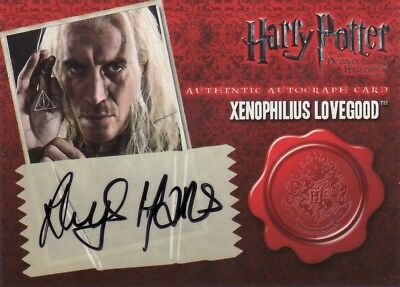 Harry Potter & the Deathly Hallows Pt 1 Rhys Ifans as Xenophilius Lovegood Auto