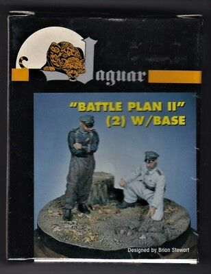 "JAGUAR MODELS 63059 - ""BATTLE PLAN II"" w/BASE (2) -1/35 RESIN KIT"