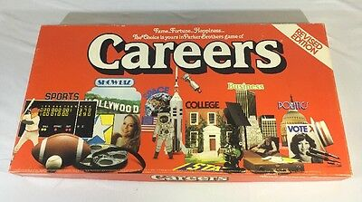 CAREERS BOARD GAME COMPLETE vintage Retro Collectable