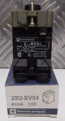 Telemecanique ZB2-B94  Light Lamp Holder Z-BV94 ZBV94 61554