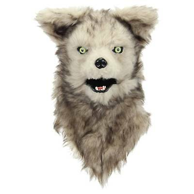 Adult Mouth Mover Wolf Mask - Hyde and Eek! Boutique™