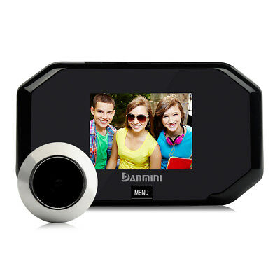 1.0Mp 3.0Inch Door Peephole Viewer Photo Taking Wide Angle Camera Home Alluring