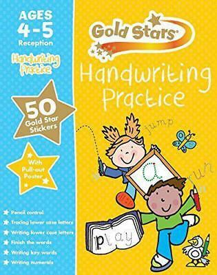 Gold Stars Handwriting Practice Ages 4-5 Reception
