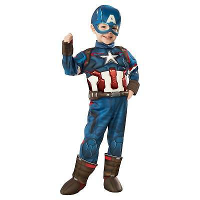 Marvel® Toddler Captain America Muscle Costume