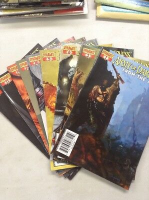 ARMY OF DARKNESS: FROM THE ASHES Lot Of 9