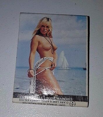 Vintage Playboy Playmate / BT Industries Collectible Match Book Excellent Cond