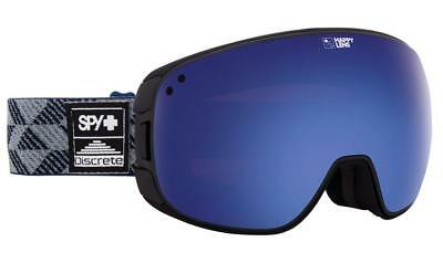 New Men's SPY BRAVO SPY + DISCRETE - HAPPY DARK BLUE SPECTRA + HAPPY RED Goggles