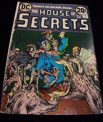 House Of Secrets #107 - Dc Comics - April 1973 - Wrightson
