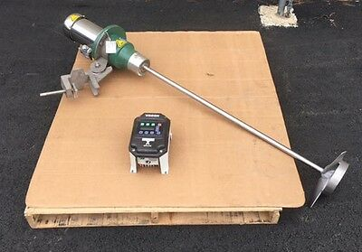 SPX Lightnin 3/4 HP Clamp On Mixer, New 2013, Includes VFD