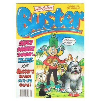 Buster Comic August 7 1993 MBox2789 7th August 1993