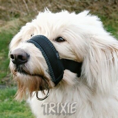 Trixie Extra Soft Padded Large Nylon Dog Muzzle Loop