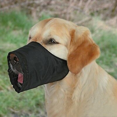 Trixie Nylon Muzzle, Small/ Medium , Black