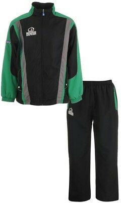 Mens Rhino Rugby Tracksuit Mens Black Green
