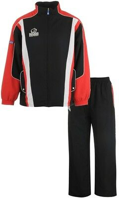 Mens Rhino Rugby Tracksuit Mens Red