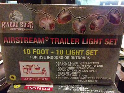 ORIGINAL Airstream Trailer Lights Party Christmas String Light Set by Rivers Edg