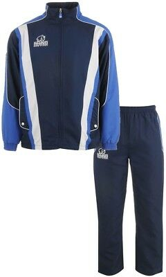 Mens Rhino Rugby Tracksuit Mens Blue
