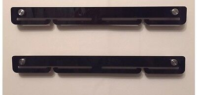 Acrylic Extra rails medal hanger, with standoffs