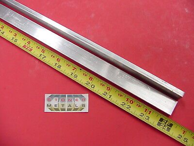 "2 Pieces 1/4"" X 3/4"" ALUMINUM 6061 FLAT BAR 24"" long Solid T6 .25 Mill Stock"