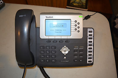 Yealink SIP-T28P business class ip phone voip Black - With Power Supply