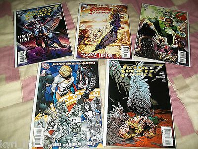 Justice Society Of America #1-22 Variant Cover Set Geoff Johns Dc Comics 2012 S4