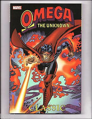 Omega The Unknown Classic Tpb Trade The Defenders Marvel Nm