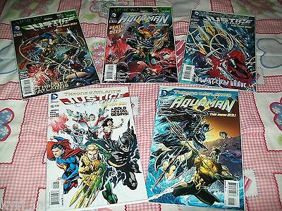 Aquaman 14 15 16 17 Justice League 15 16 17 Throne Of Atlantis New 52 Dc B4