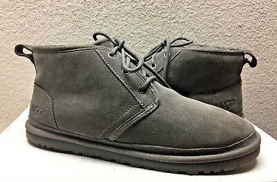01fdde721b9 UGG MEN HARKLEY Waterproof Grizzly Leather Shoe Us 11 / Eu 44.5 / Uk ...