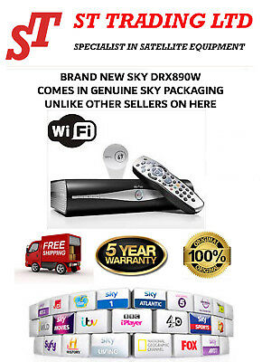 Sky+HD DRX890W Box BRAND NEW