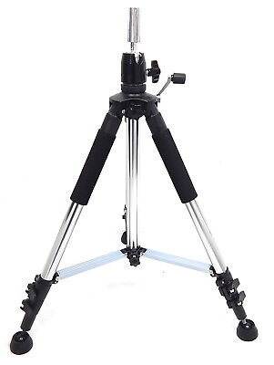 Hair Salon Adjustable Metal Tripod for Wig Head Manikin Head with Carry Bag