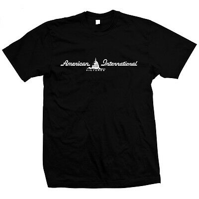 American International Pictures - Hand Screened, Pre-shrunk 100% cotton T-Shirt