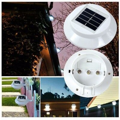 Solar Powered Rechargeable Battery LED Garage Shed Light Outdoor Garden Lighting
