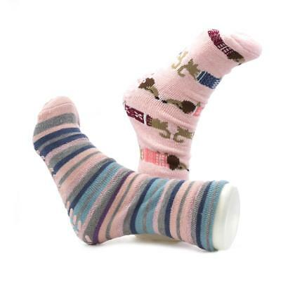 Totes Womens Twin Pack Novelty Sock - Sizes 1