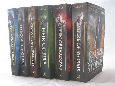 Throne of Glass Series #1-5: Includes Assassin's Blade (6 Books by Sarah J. Maas