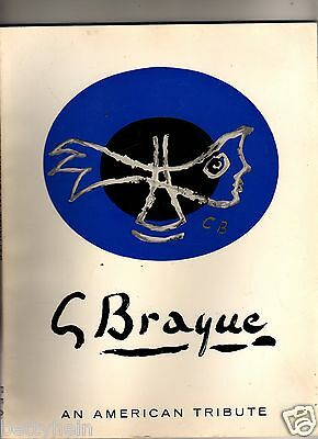 GEORGES BRAQUE 1882 - 1963  An American Tribute - April 7 -May 2, 1964 -