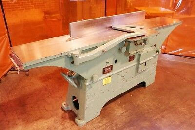 """Oliver 12"""" Jointer #189BD w/12"""" Cutter head and 3 sharp knives HSS"""