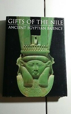 Gifts of the nile ancient Egyptian faience hard cover large book good cond