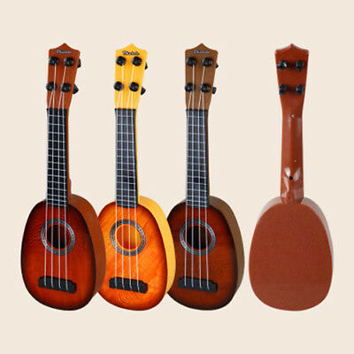 4 Strings Musical Plastic Toy Ukulele Small British style children's Guitar