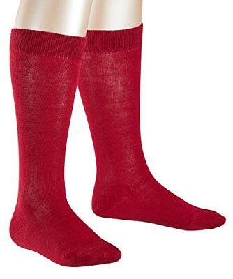 Falke Family, Calze Bambina, Rosso (Cranberry 8033), 35/38 IT (H8Y)