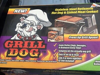 Grill Dog battery operated hot dog roller