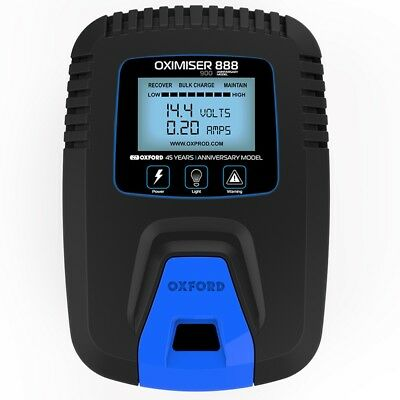 Oxford Oximiser 888 900 Anniversary 12V Battery Charger Optimiser Smart Trickle