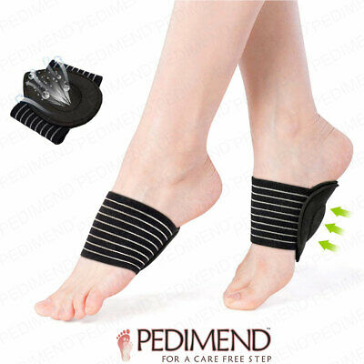 4PCS OF Extra Thick Cushioned Compression Arch Support BY PEDIMEND For Flat Feet