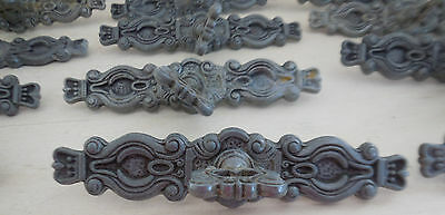 Lot Vintage Hyer Ornate Key Drawer Pulls Handles Rococo French Provincial