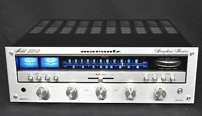 Vintage Marantz 2252 with LED UPGRADE, professionally SERVICED, clean, all OK